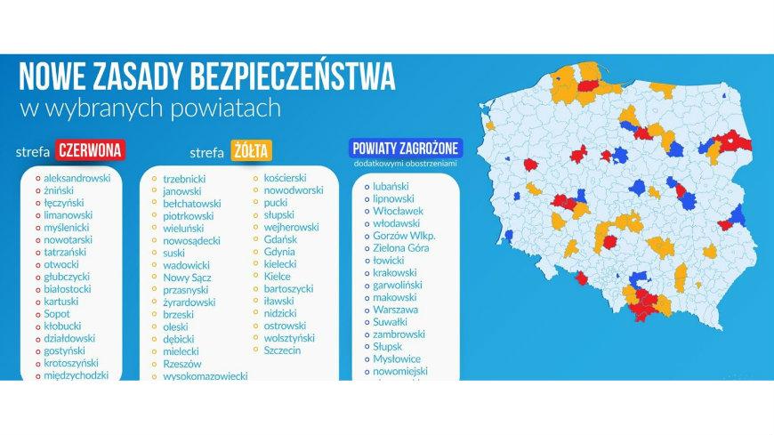 Gmina Czarna Białostocka w czerwonej strefie - nowe obostrzenia